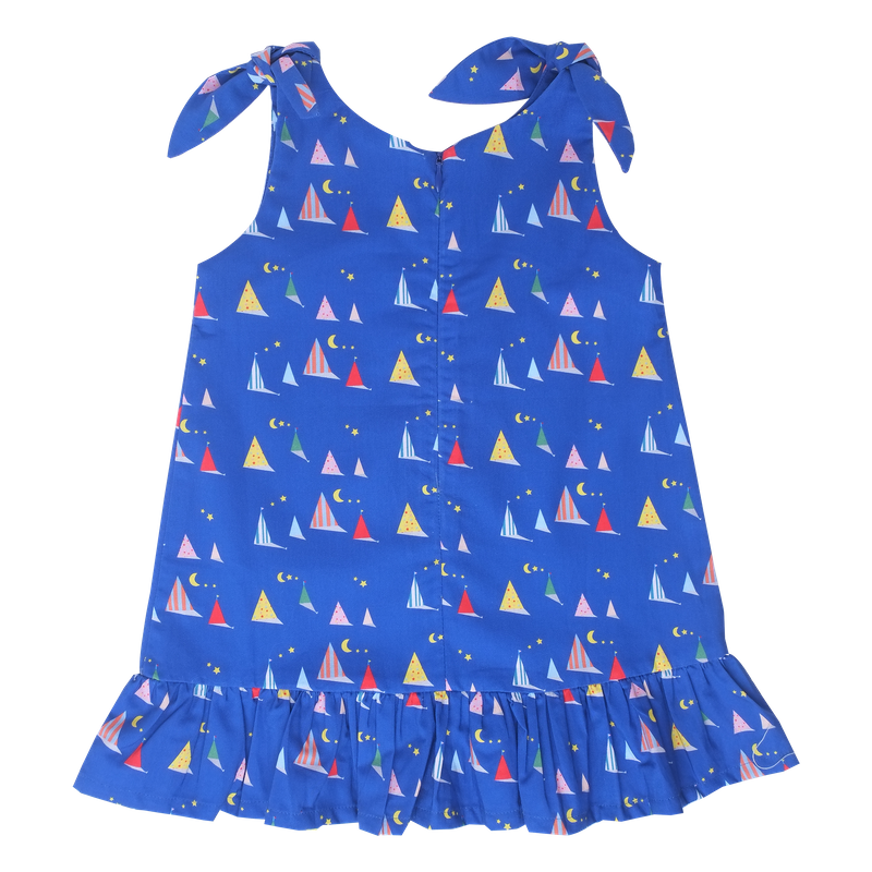 Midnight Tent Knot Dress