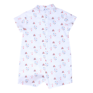 Baby Boy's Mini Collar Romper - Carnival