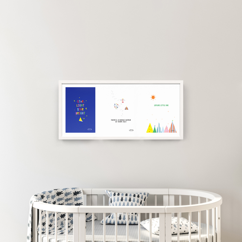 Nursery Wall Art - Exclusive Series of 3
