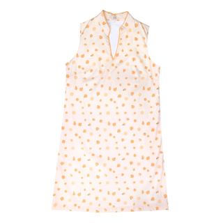 Mommy V Shift Cheongsam - Ji-Oranges Beige