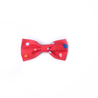 BowtifulJoy x Chubby Chubby Bows - Festive Geometric Red