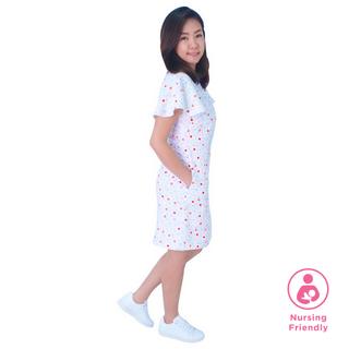 Mommy's Shirt Cheongsam - Playful Blocks - Pastel