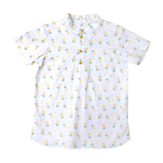 Boy's Knot Shirt - Wang Pineapples