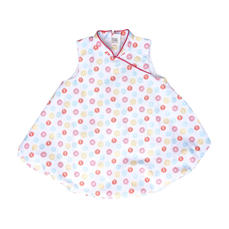Bubble dress  - Fortune Coins Multi-Color