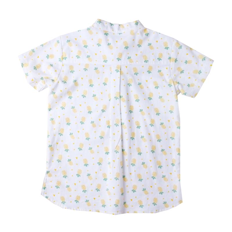 Boy's Knot Shirt - Wang Pineapples