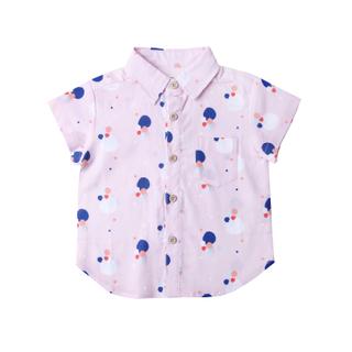 Pink Confetti Boy Shirt