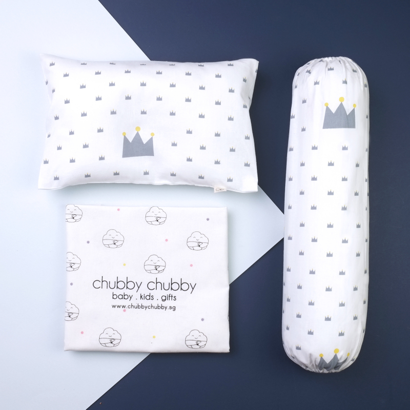 Two is better than one bundle- Pillow & Bolster Crown Prince