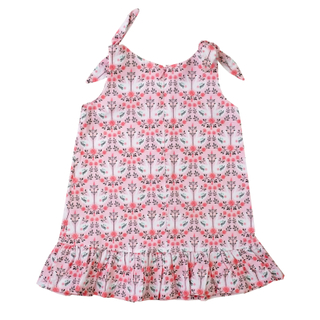 Lovely Swans Knot Dress