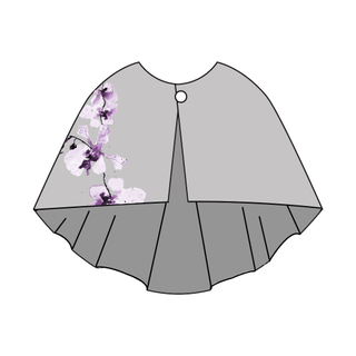 Tanglin Orchird Ladies Bloom Orchid Cape (Light Grey)