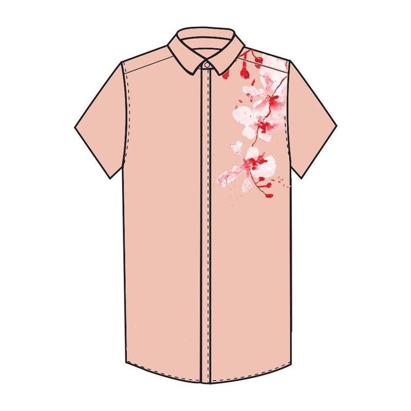 Tanglin Orchird Mens Shirt