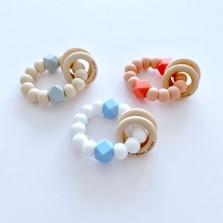 Chubby Chubby Exclusive Wildberry Rattle Teethers