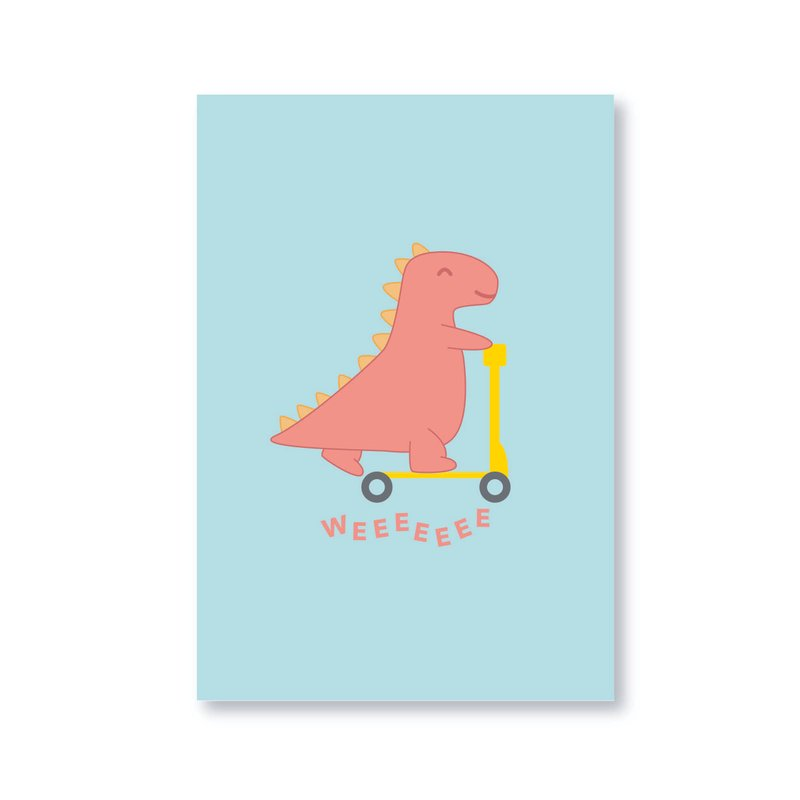 Playful Scooter Dino Gift Card