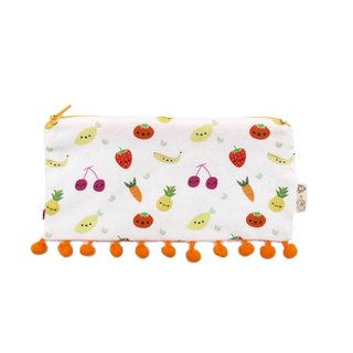 MyCalligraffiti X Chubby Chubby- Tutti Frutti Pencil Case