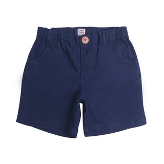 Boy's Bermuda Shorts - Navy Blue