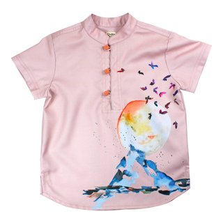 Boy's Knot Shirt - TGE Pink