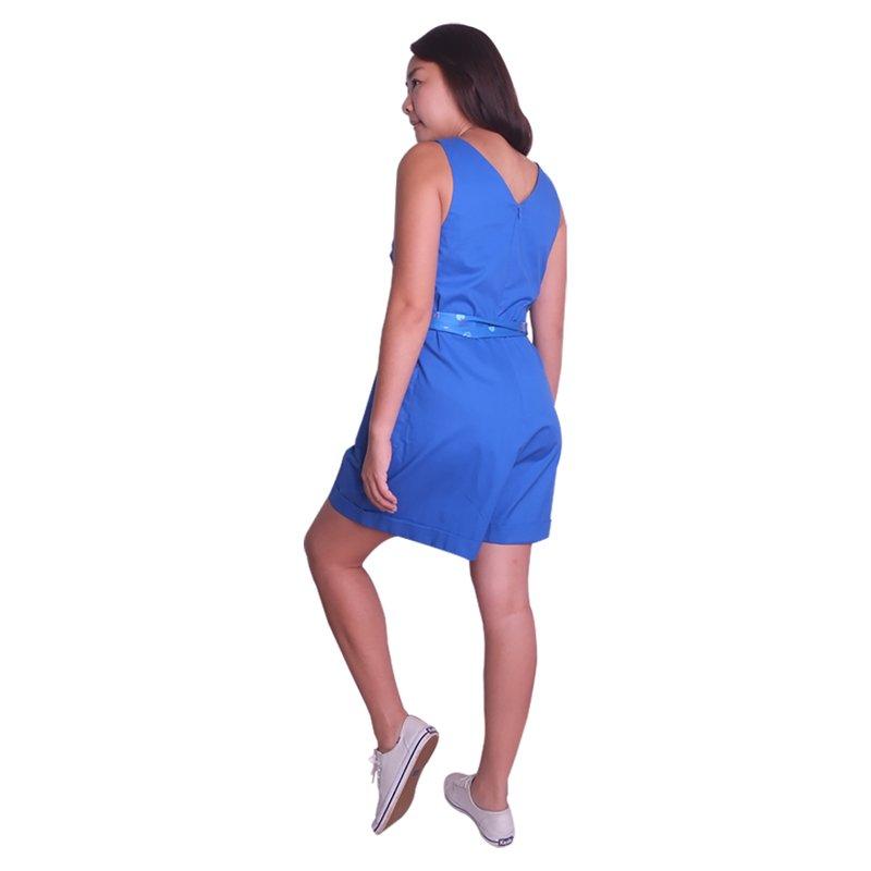 Mommy's Blue Jumpsuit - Classic Blue
