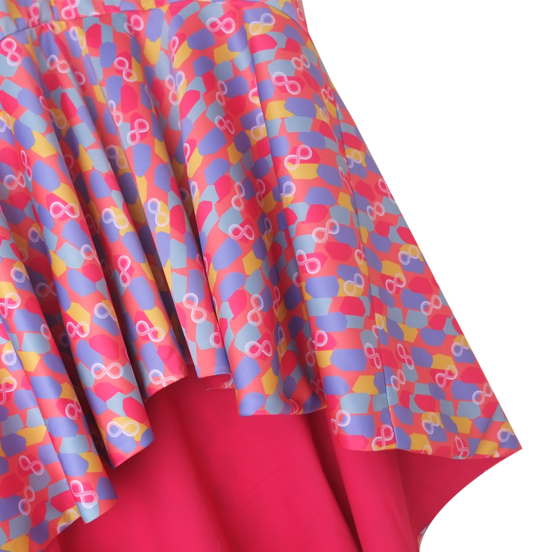 Mommy's Flowy Dress - Colorful Infinity Huat