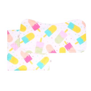 Burp Cloth Bundle - Popsicle Pink