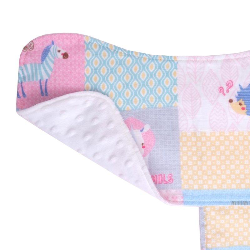 Burp Cloth Bundle - Colorful Forest Animals