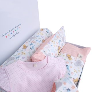 Pink Sweet Safari Gift Set