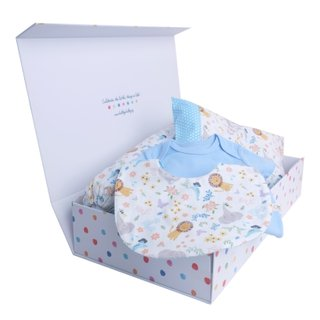 Blue Sweet Safari Gift Set