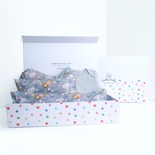 Sweet Safari Grey Gift Set