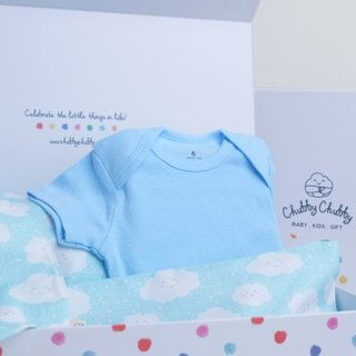 Oh Happy Clouds Blue Gift Set