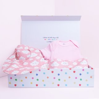 Oh Happy Clouds Pink Gift Set